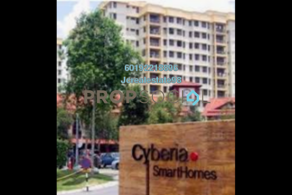 For Sale Condominium at Cyberia SmartHomes, Cyberjaya Freehold Fully Furnished 3R/2B 280k