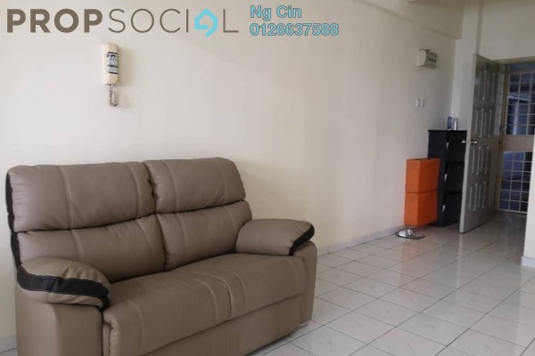 For Rent Serviced Residence at Endah Ria, Sri Petaling Freehold Fully Furnished 3R/2B 1.5k