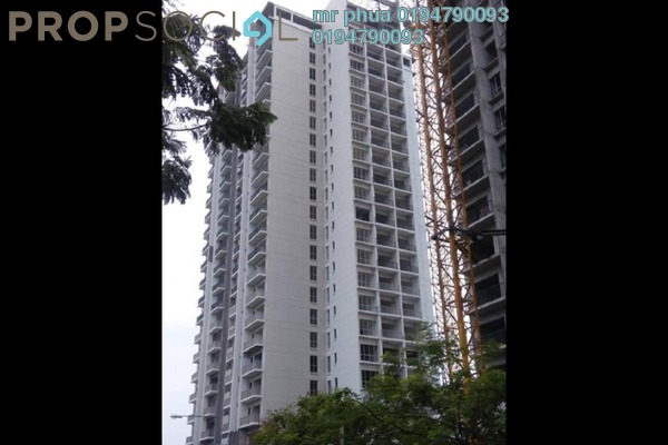 For Rent Condominium at Platinum III, Teluk Kumbar Freehold Semi Furnished 3R/2B 1.3k