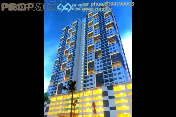 For Sale Condominium at Palma Laguna, Seberang Jaya Freehold Semi Furnished 4R/2B 335k