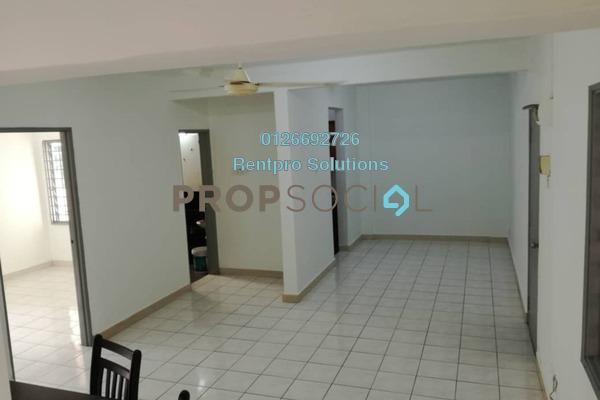 For Rent Apartment at Sri Cempaka Apartment, Bandar Puchong Jaya Freehold Semi Furnished 3R/2B 850translationmissing:en.pricing.unit