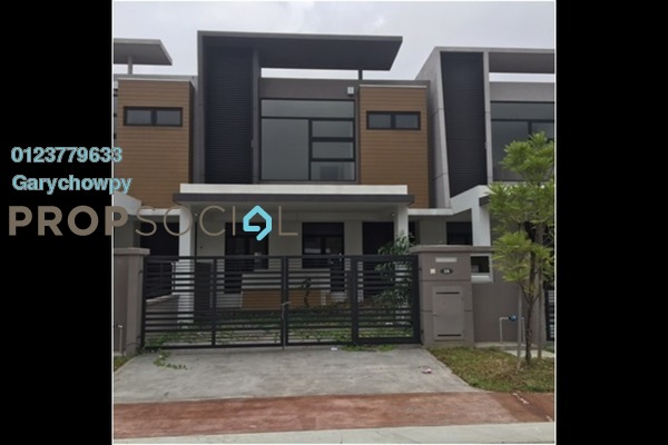 For Sale Terrace at Cahaya Alam, Shah Alam Freehold Semi Furnished 4R/4B 747k