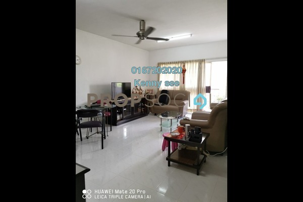 For Sale Condominium at Endah Ria, Sri Petaling Freehold Fully Furnished 3R/2B 390k