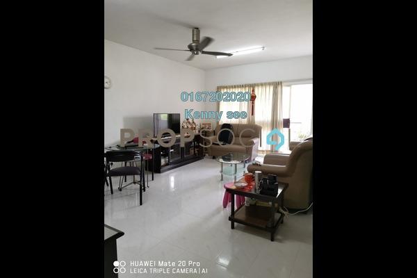For Sale Condominium at Endah Ria, Sri Petaling Freehold Fully Furnished 3R/2B 390k