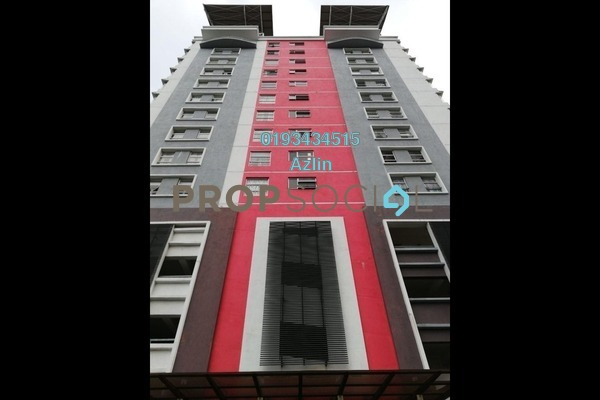 For Sale Apartment at Calisa Residences, Puchong Freehold Semi Furnished 3R/2B 280k