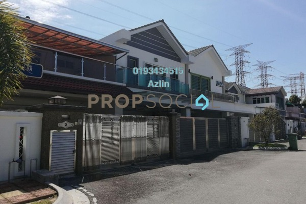 For Sale Terrace at Taman Bullion Mewah, Sentul Freehold Semi Furnished 5R/5B 1.25m