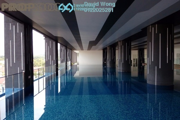 For Rent Condominium at Symphony Residence, Kajang Freehold Semi Furnished 3R/2B 1.1k