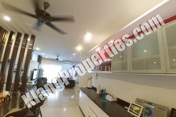 For Sale Terrace at Ambang Botanic 1, Klang Freehold Fully Furnished 5R/4B 1.08m