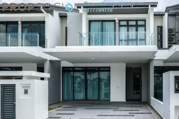 For Rent Terrace at Estuari, Puteri Harbour Freehold Fully Furnished 4R/4B 6k