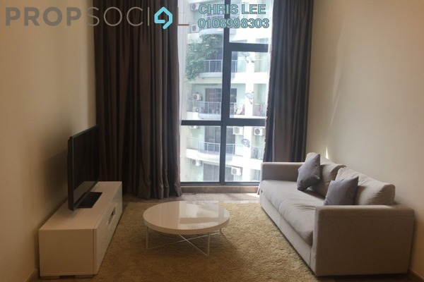 For Rent Condominium at Laman Ceylon, Bukit Ceylon Freehold Fully Furnished 2R/2B 3.3k