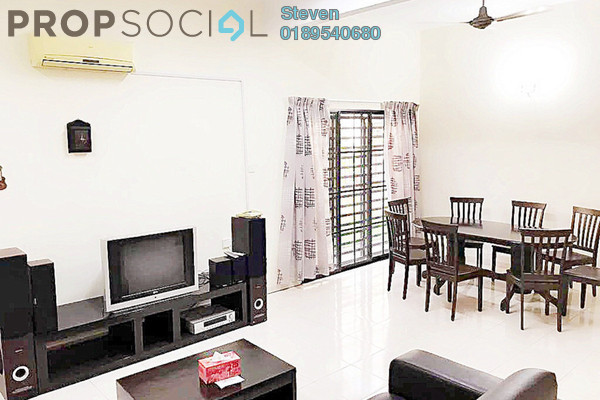 For Rent Semi-Detached at Sunway City Ipoh, Tambun Freehold Fully Furnished 4R/3B 1.9k