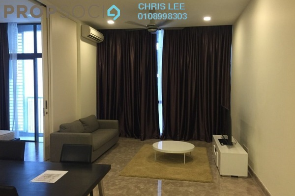 For Rent Condominium at Laman Ceylon, Bukit Ceylon Freehold Fully Furnished 2R/2B 3.5k