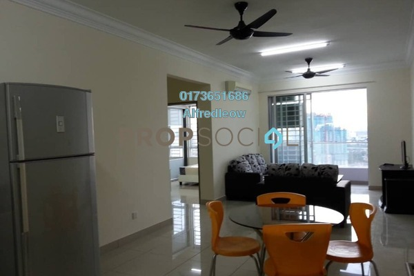 For Rent Condominium at Court 28 @ KL City, Sentul Freehold Fully Furnished 2R/2B 1.9k