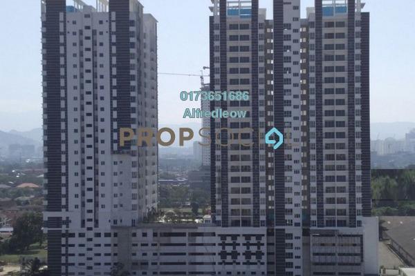 For Rent Condominium at DeSkye Residence, Jalan Ipoh Freehold Unfurnished 3R/2B 1.2k