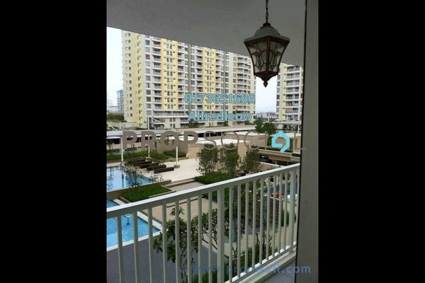 For Rent Condominium at Platinum Lake PV16, Setapak Freehold Semi Furnished 4R/2B 2.25k