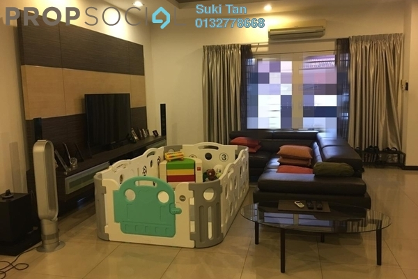 For Sale Terrace at Sunway SPK Damansara, Kepong Freehold Semi Furnished 4R/3B 1.65m