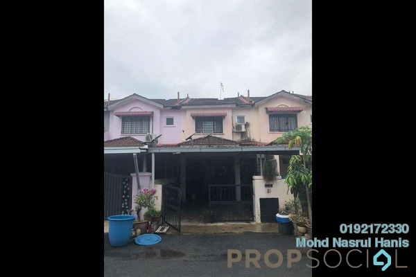 For Sale Terrace at Bandar Tasik Puteri, Rawang Freehold Unfurnished 4R/3B 285k