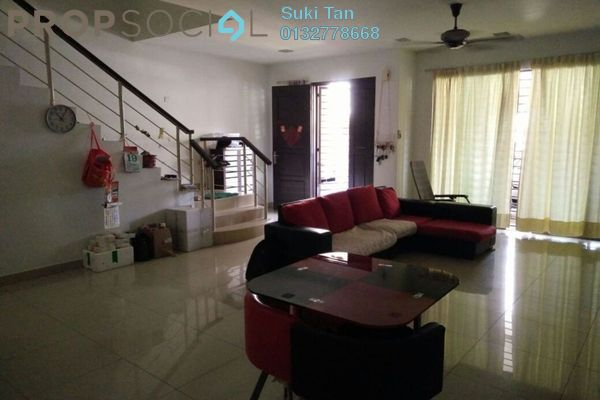 For Sale Terrace at Laman Rimbunan, Kepong Freehold Semi Furnished 5R/4B 1.25m
