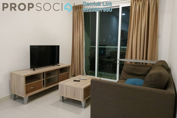 For Sale Condominium at Desa Green Serviced Apartment, Taman Desa Freehold Fully Furnished 1R/1B 430k
