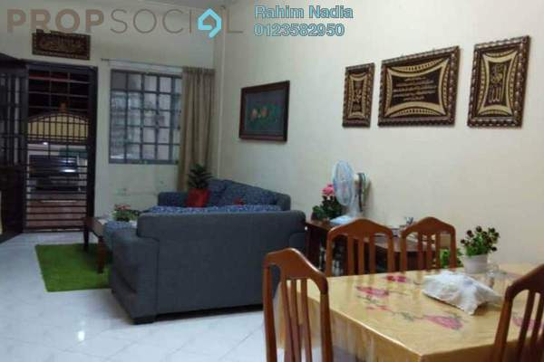 For Sale Terrace at Bandar Baru Sungai Buaya, Rawang Freehold Semi Furnished 3R/2B 260k