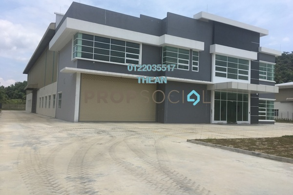 For Sale Factory at Semenyih Hi-Tech Industrial Park, Semenyih Freehold Semi Furnished 0R/2B 7.5m