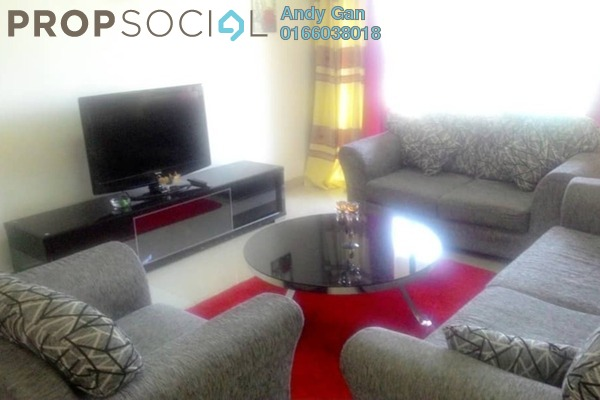 For Rent Condominium at Rivercity, Sentul Freehold Fully Furnished 4R/3B 2.25k