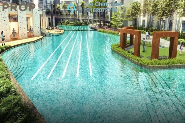 For Sale Condominium at Fortune Perdana Lakeside, Kepong Freehold Unfurnished 3R/2B 490k