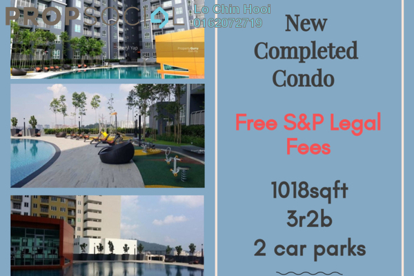 For Sale Condominium at The Holmes 2, Bandar Tun Razak Leasehold Unfurnished 3R/2B 420k