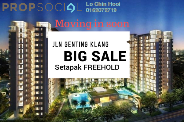 For Sale Condominium at KL Traders Square, Kuala Lumpur Freehold Unfurnished 3R/2B 410k