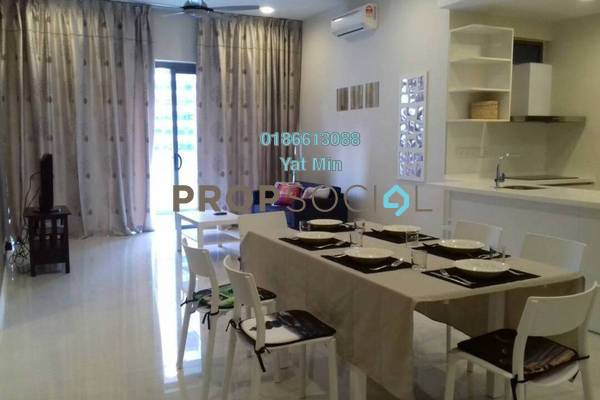 For Rent Condominium at Reflection Residences, Mutiara Damansara Freehold Fully Furnished 3R/2B 3.6k