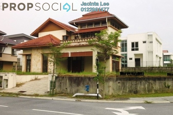 For Sale Bungalow at Bukit Bayu, Shah Alam Freehold Unfurnished 5R/6B 1.4m