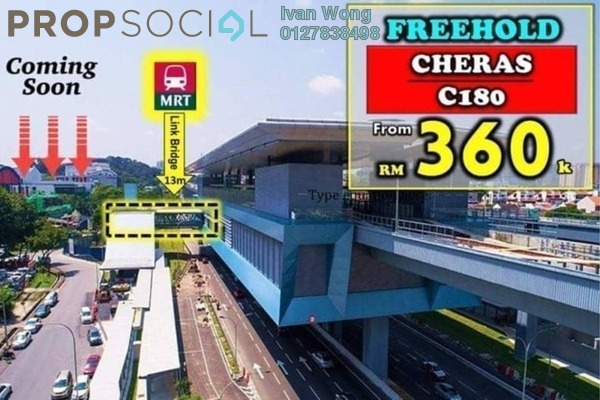 For Sale Condominium at C180, Cheras South Freehold Unfurnished 2R/2B 360k