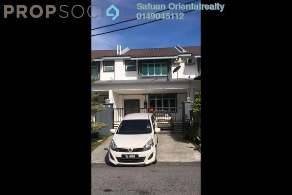 For Sale Terrace at Taman Seri Mas, Hulu Langat Freehold Semi Furnished 4R/3B 580k