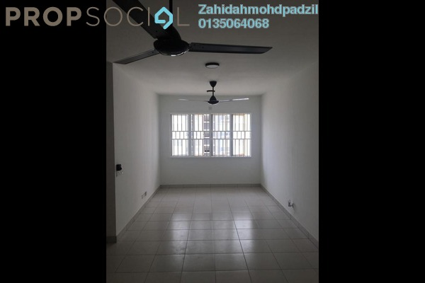 For Rent Apartment at De Palma Apartment, Setia Alam Freehold Unfurnished 3R/2B 750translationmissing:en.pricing.unit