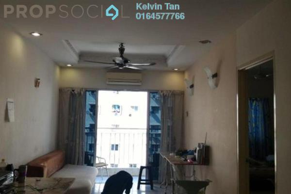 For Rent Apartment at The OceanView, Jelutong Freehold Fully Furnished 3R/2B 1.55k
