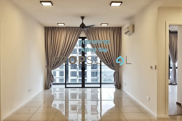 For Rent Condominium at Anjali @ North Kiara, Segambut Freehold Semi Furnished 3R/3B 3.6k