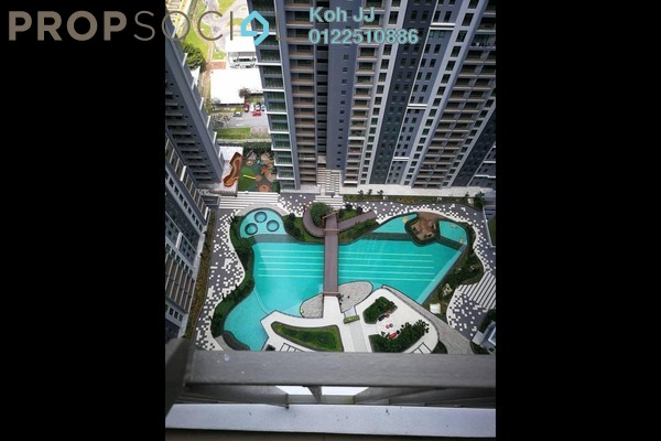 For Rent Condominium at The Henge Residence, Kepong Freehold Unfurnished 3R/2B 1.1k