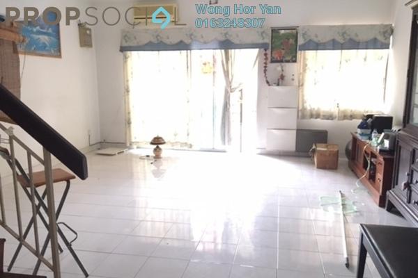 For Sale Terrace at PU8, Bandar Puchong Utama Freehold Semi Furnished 4R/3B 498k