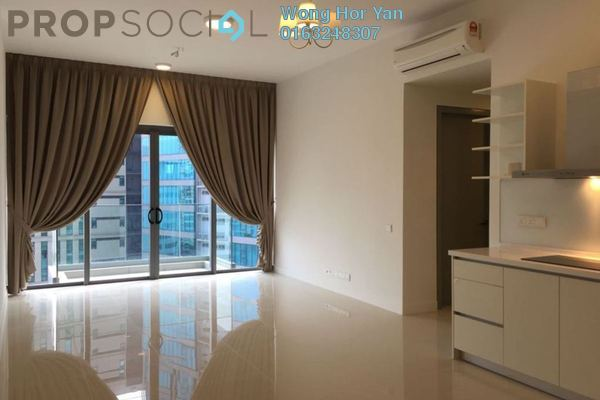 For Rent Serviced Residence at Reflection Residences, Mutiara Damansara Freehold Semi Furnished 3R/2B 3k