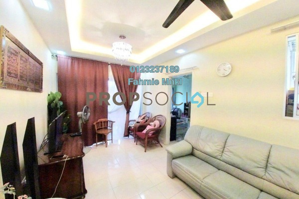 For Sale Apartment at Residensi Bistaria, Ukay Freehold Semi Furnished 3R/2B 310k