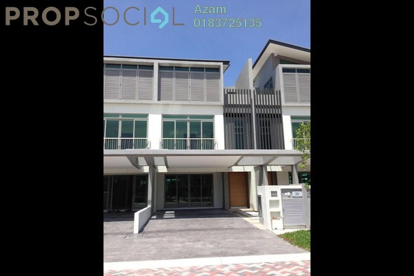 For Sale Superlink at D'Island, Puchong Freehold Semi Furnished 6R/6B 1.3m