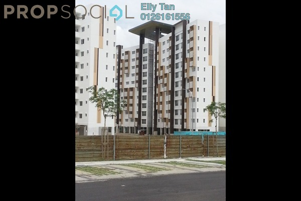 For Sale Apartment at Seri Mutiara, Setia Alam Freehold Unfurnished 3R/2B 320k