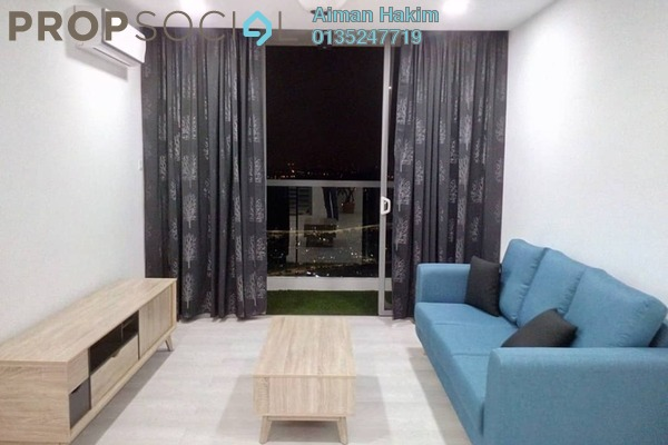For Rent Condominium at LakeFront Residence, Cyberjaya Freehold Fully Furnished 3R/2B 2.7k
