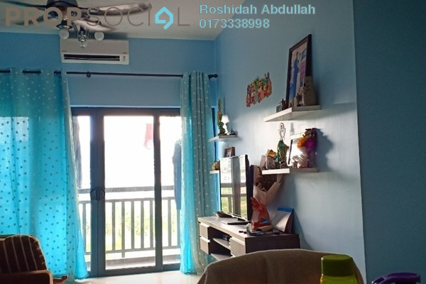 For Rent Serviced Residence at Suria Residence, Bukit Jelutong Freehold Semi Furnished 3R/2B 2.2k