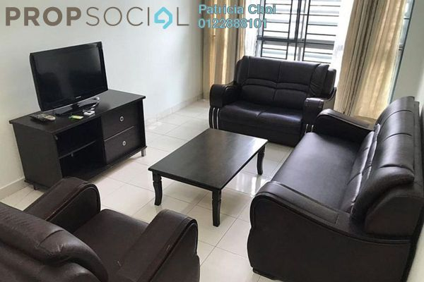 For Rent Serviced Residence at Casa Tiara, Subang Jaya Freehold Fully Furnished 3R/2B 2.3k