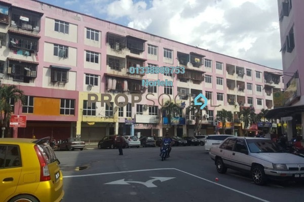 For Rent Apartment at Reko Sentral, Kajang Freehold Unfurnished 3R/1B 800translationmissing:en.pricing.unit