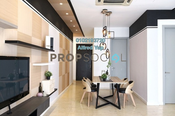 For Rent Condominium at Idaman Residence, KLCC Freehold Fully Furnished 2R/2B 4.2k