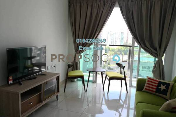 For Rent Condominium at Tropicana Bay Residences, Bayan Indah Freehold Fully Furnished 2R/2B 2.3k