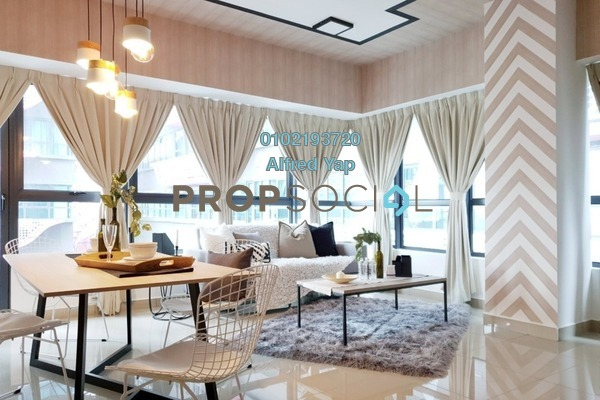 For Rent Condominium at Arte +, Jalan Ampang Freehold Fully Furnished 2R/2B 2.8k