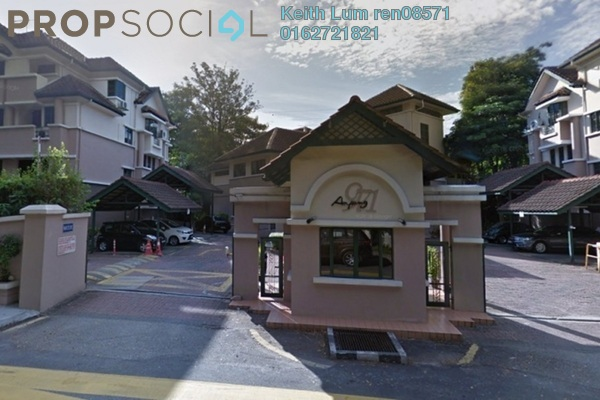 For Rent Townhouse at Ampang 971, Ampang Hilir Freehold Semi Furnished 4R/3B 3.8k